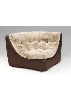Kampinis fotelis - Armani Silver