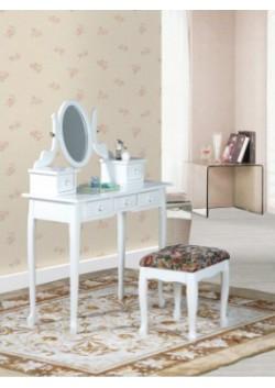 Kosmetinis staliukas su pufu - Capri 6405